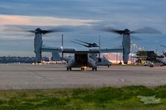 US Marines V-22 Osprey 07 YSSY-8341 (A u s s i e P o m m) Tags: v22 osprey v22osprey usmarines sydneyairport syd yssy mascot newsouthwales australia au