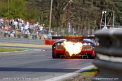 Lamborghini Murciélago R-SV GT1 (belgian.motorsport) Tags: 2011 fiagt fia gt gt1 circuit zolder lamborghini murciélago rsv murcielago flames hot exhaust flaming fire reiter engineering