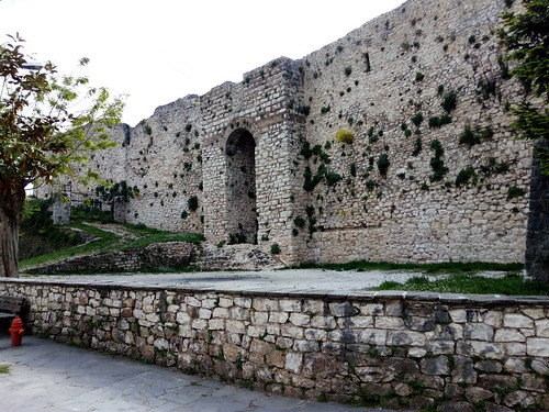 Entrance at the fortress