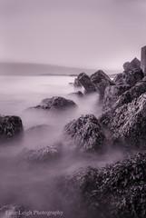 The Bay..... (Einir Wyn Leigh) Tags: water longexposure rocks sea beach ocean shore seascape mystical magical warm groynes bay cove coast wales cymru love