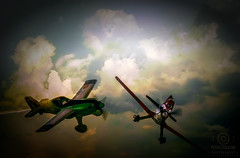 secret life of toys (kapper22) Tags: planes aircraft sky outdoors fun photosho