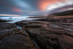 Apollo Bay Sunset (Mark McLeod 80) Tags: australia greatoceanroad markmcleod markmcleodphotography otwaysnationalpark theotways vic victoria water waterfall apollobay southernocean longexposure