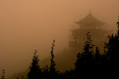 enmu (roko110) Tags: china yunnan nature dust fog haze mystical magical sepia unreal fantasy japan anime myst ancient