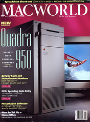 MacWorld July 1992, Apple's most powerful computer (Arne Kuilman) Tags: dtd macworld magazine covers difference era time retro quadra950 desktop mostpowerfulcomputer cover july 1992 themacintoshmagazine