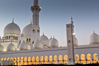 Sheikh Zayed Mosque After Sundown | Abu Dhabi, UAE