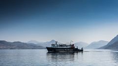 Lord of the Isles (c.c.f.o) Tags: skye scotland ferry lord isles calmac knoydart hills mountains inverie water sound sleet