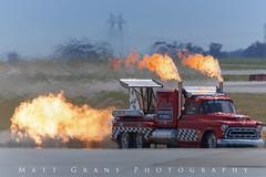 The Hot Streak (Matt Grans Photography) Tags: chevytruck rocket fire flames hotrod dragster showcar vehicle travisafb show
