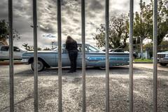 1960 chevy impala (pixel fixel) Tags: 1959 blue chevrolet cincodemayo cityofindustry drivein impala losangelesbombs speedzone unidos
