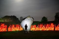 Avebury Light Painting (cath dupuy) Tags: avebury wiltshire stonecircle standingstones stoines lightpainting lightpainters balloflight denissmith sky clouds night nightphotography longexposure pixelstix lasers flames