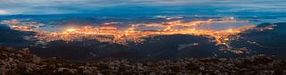 Hobart in Blue Hour