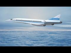 Αεροπλάνο θα κάνει Νέα Υόρκη - Λονδίνο σε 3 ώρες (newsmag) Tags: concorde αεροπλάνο νέαυόρκηλονδίνο υπεργρήγορο