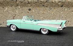 1957 Chevrolet Bel Air Convertible (JCarnutz) Tags: 124scale diecast danburymint 1957 chevrolet belair