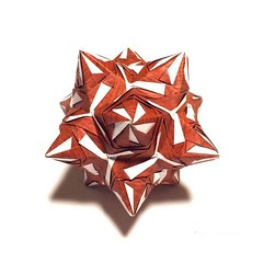Cappy (Meeyho) Tags: kusudama origamipaper origami folding