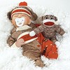 "Paradise Galleries Baby Doll That Looks Real, Sock Monkey Business 17"" (Weighted Body) (Artist: Angela Anderson) (saidkam29) Tags: anderson angela artist baby body business doll galleries looks monkey paradise real sock weighted"