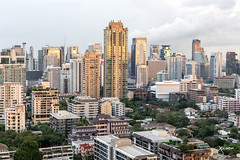 Morning in Bangkok, Thailand (jennchanphotography) Tags: bangkok cityscape panorama thailand travel tourism vancouver southeast asia seasia jennchanphotography buildings architecture