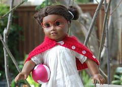 Hidden Figures - Katherine Johnson as a little girl (Emily1957) Tags: hiddenfigures katherinejohnson sonali americangirl dolls doll toys toy light naturallight nikond40 nikon kitlens americangirl46trulyme red glasses