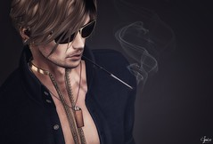 [kunst] photo contest - Spice wearing [kunst] Lightern Sweden Necklace RARE and Long Cig Holder mouth RARE Egoisme EXMACHINA Sunglasses Exile Outsider hair (Two Too Fashion) Tags: secondlife secondlifemodel secondlifefashion secondlifeblogger kunst kunstphotocontest egoismemilano egoisme longcigholderplainmouthrare kunstlighterswedenraregachanecklace lighterswedenraregachanecklace kunstlongcigholderplainmouthrare exile exileoutsiderhair thedarkstylefair fashion fashionoutfit fashionmaleoutfit cigaretteholder necklace malenecklace fashionblogger malesunglasses egoismeexmachinasunglasses exmachinasunglasses photocontest spicecloseup