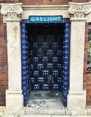 Gaslight Booth (wiredforlego) Tags: graffiti streetart urbanart publicart logansquare chicago illinois ord gaslight