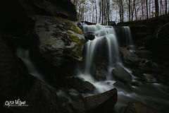 Snake Falls (wilbias) Tags: ontario canada water rain long waterfall falls exposure flow snake hamilton gloomy waterdown