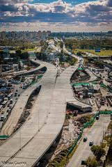Nuevo Puente La Noria !  Buenos Aires Argentina ( aun en construcción ) (djtora) Tags: sigma 17 50 28 puente la noria lomas de zamora general paz buenos aires argentina obelisco d80 nikon matias guerra parapente djtora construcción