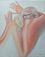 Il sopruso.(The abuse) (cicipeis) Tags: cicipeisart femminicidio paintingofsardinia arte colore donna pianeta feelingsemotions sharingart italy pictureperfect visualart