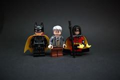 Allies (H.-o.-p.-E.) Tags: lego batman alfred robin batgirl dc dceu gotham batcafe