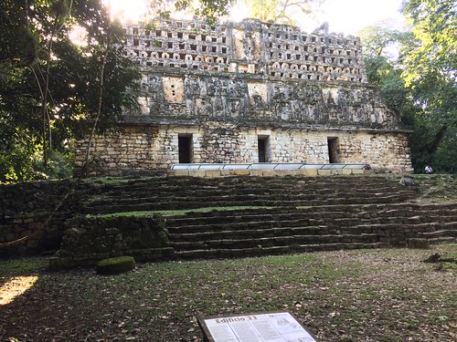 building 33, yaxchilan
