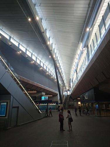 London Bridge Station.  New atrium