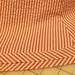 Bias sewn and pressed