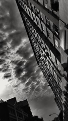 2017-04-24_08-24-58 (jumppoint5) Tags: blackandwhite urban city light shadows perspective contrast clouds hdb estate building