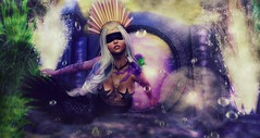 Lost Time (Sugarfairy88 Resident) Tags: aisha thefantasyfaire lelutka plastik anachron genre nanika shinyshabby musa secondlife sl slfashion secondlifefashion sexy slfantasy fashion fantasy mermaid ocean sea underwater digitalart 3dart yokai