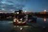 the fisherman's return (stocks photography.) Tags: michaelmarsh whitstable photographer photography coast seaside harbour fishing boats fisherman