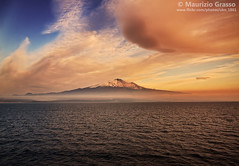 Etna, Sicily. (UKN_1861) Tags: etna sicily sea sunset sunrise clouds colorful background copyspace mediterranean beautiful nature seascape landscape mountain mount volcano italy view scenery landmark tourism travel tourist touristic destination attraction europe