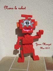 Nono le robot (Origaiku) Tags: origami modulaire modular sonobe nono robot