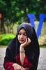 Hijab portrait (1per3) Tags: woman womaninframe portrait nikon nikonian modeling agameoftones way2ill