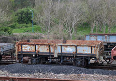 CE991235 Grampus Ballast Wagon, Dartmouth Steam Railway & River Boat Company, Goodrington Sands, Devon (Kev Slade Too) Tags: ce991235 grampus ballastwagon goodringtonsands devon dartmouthsteamrailwayriverboatcompany