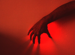 Deep energy (marcus.greco) Tags: red deep energy hand conceptual portrait selfportrait man
