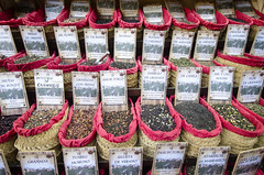 Tea Market (rschnaible) Tags: granada spain europe espana travel sightseeing tour food market sell sale color colorful tea drink