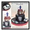 Black Suit Cake #blacksuit # #designercake #delhi #fondant #themed #favorite #cake #things #noida #gurgaon #newdelhi #southdelhi (Cake Central-Design Studio) Tags: firstbrthday designercake delhi fondant themed kidscake