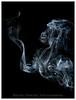 The Gorilla and Fairy (Wayne Symons Photography) Tags: smoke incense smokeart gorila gorilla fairy