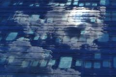 Clouds drifting by (jehazet) Tags: architecture architectuur wolken clouds reflections zernike groningen jehazet