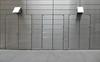 Inconspicuous doors (TheMachineStops) Tags: 2017 outdoor nyc newyorkcity manhattan timewarnercenter metal doors columbuscircle 10019 zip10019 lines geometrie geometry mathematic