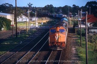 C Class Duo arrive at Dimboola (1993)