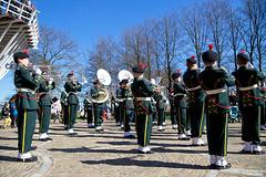 Keukenhof (jeremyvillasis) Tags: amsterdam people travel netherlands holland europe spring keukenhof garden music performance wind instrument musicinstrument trombone trumpet uniform boys teenager bluesky outdoor