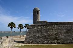 Castillo de San Marcos (lastsonofsteel) Tags: florida st augustine water ocean atlantic lsospictures lastsonofsteel fort menendez stone shells coquina
