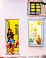 Shop (Kevin R Thornton) Tags: d90 nikon travel street people parikia mediterranean greece paros egeo gr