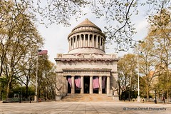 Whose Buried in Grant's Tomb?? (Thomas DeHoff) Tags: grants tomb new york city flags spring sony a700