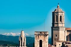 Girona Skyline...Explore (J.Pineda66) Tags: girona catedral city town catalonia cataluña catalogne catalunya skyline europa europe sky cel cielo explore