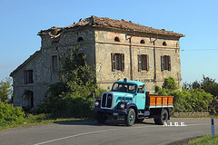 SAURER BERNA - A.I.T.E. (marvin 345) Tags: saurer berna saurerberna italy italia liguria aite rievocazionestoricapassodellacisa truck trucks camion oldtruck oldtimer autocarro