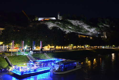 Cruising the Salzach